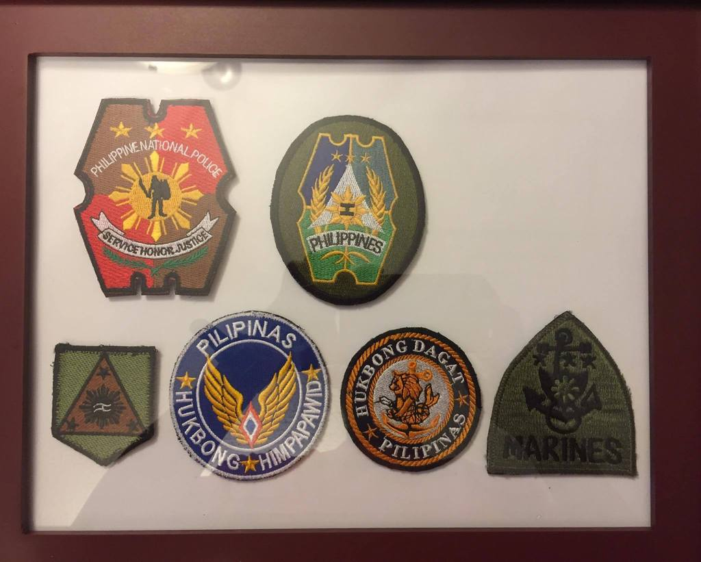 AFP  PATCHES COLLECTION AFP