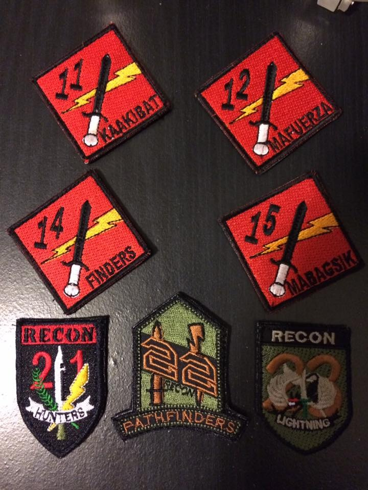 AFP  PATCHES COLLECTION DRC