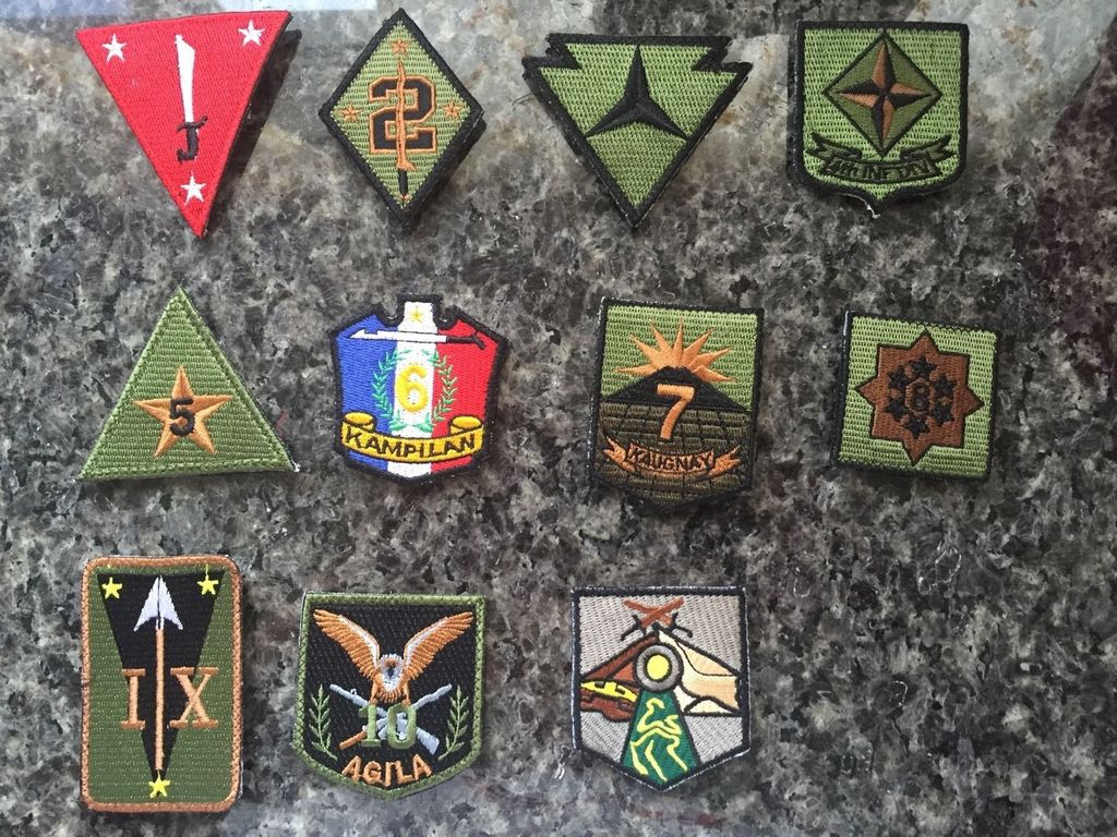 Some Philippine Patches Infantry%20Division