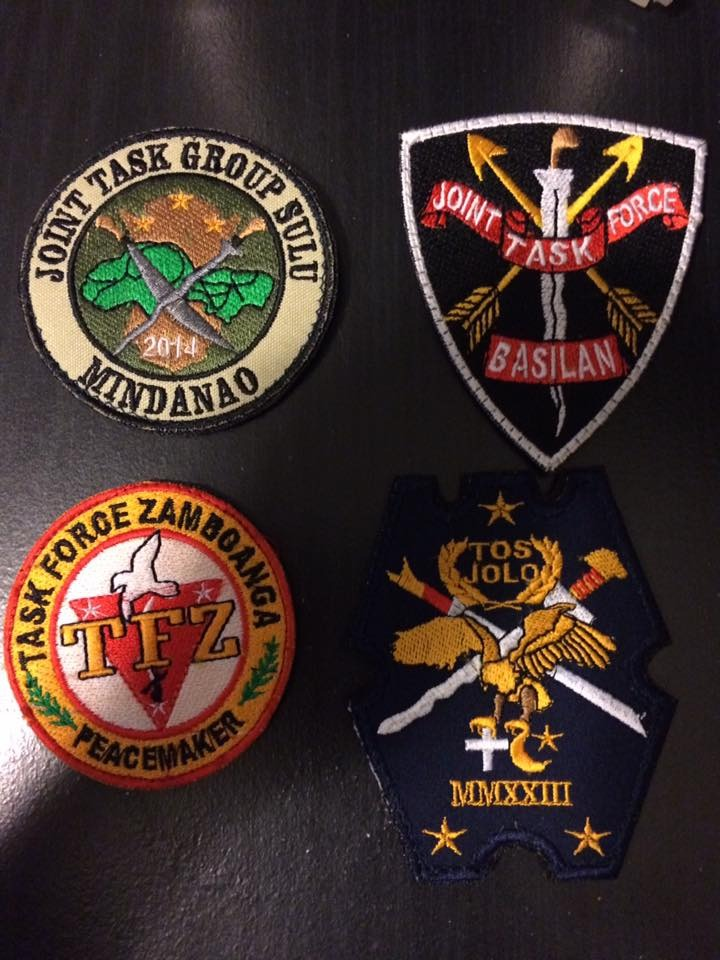 AFP  PATCHES COLLECTION JTF