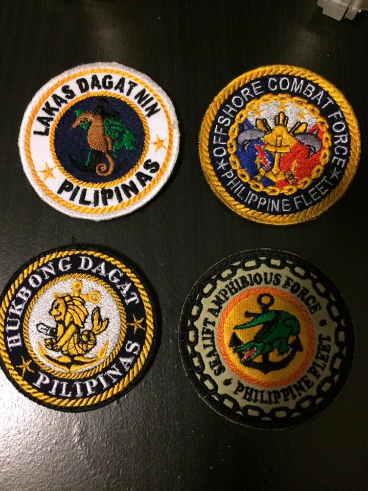 AFP  PATCHES COLLECTION PHLFLEET