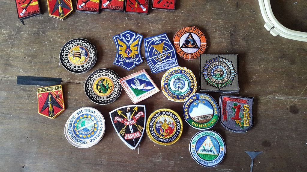 AFP  PATCHES COLLECTION Patches2