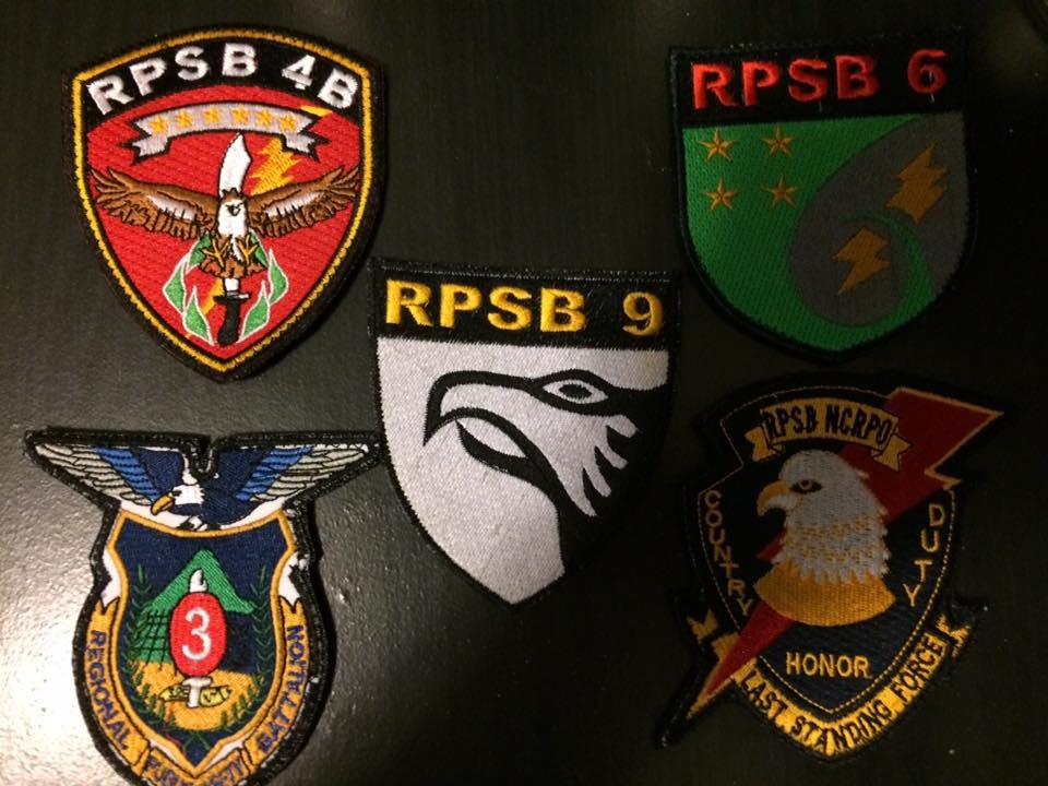 AFP  PATCHES COLLECTION RPSB