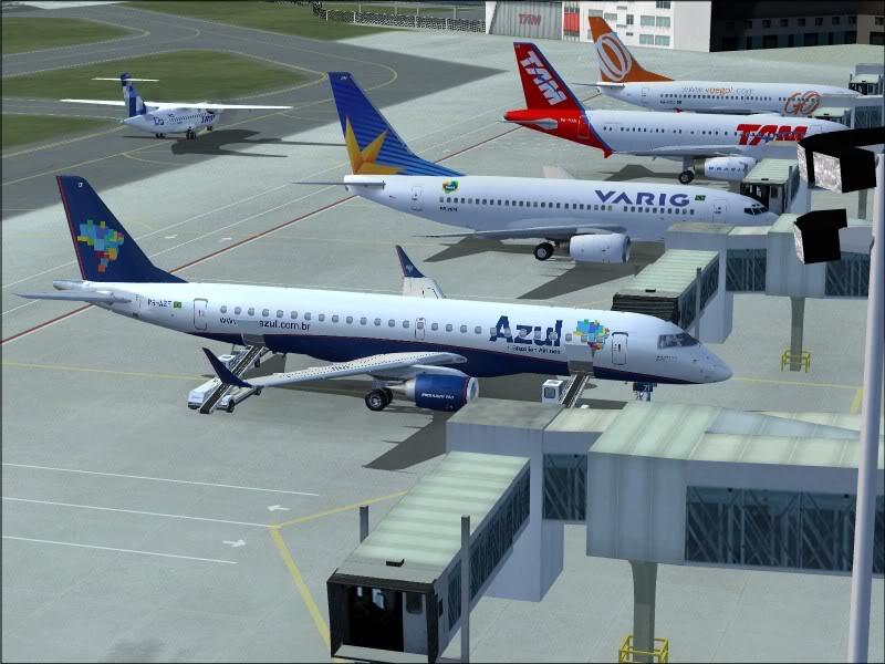 [FS9]Rio de Janeiro - Salvador no E190 da Azul Avs_7551