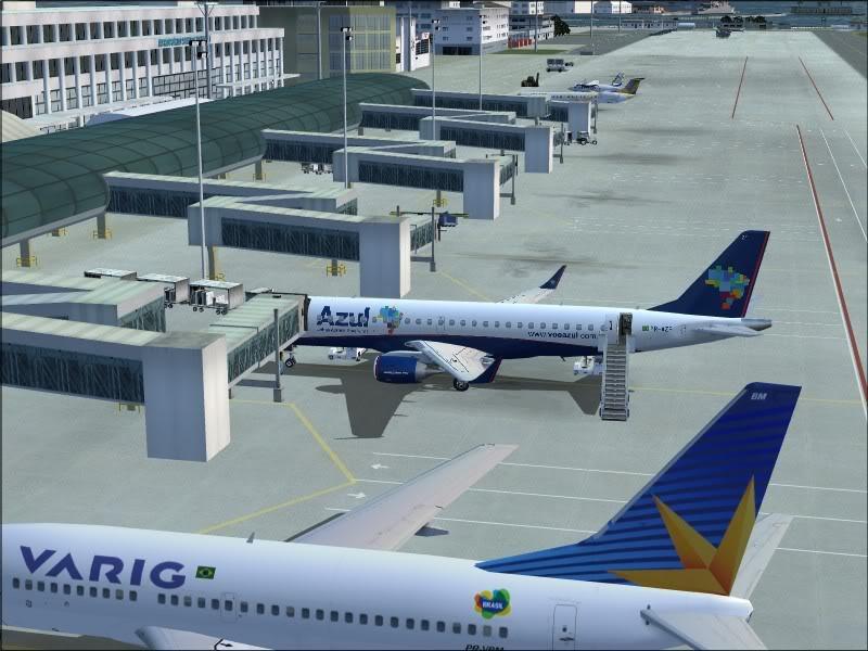 [FS9]Rio de Janeiro - Salvador no E190 da Azul Avs_7552