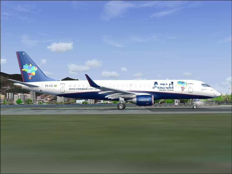 [FS9]Rio de Janeiro - Salvador no E190 da Azul Avs_7557