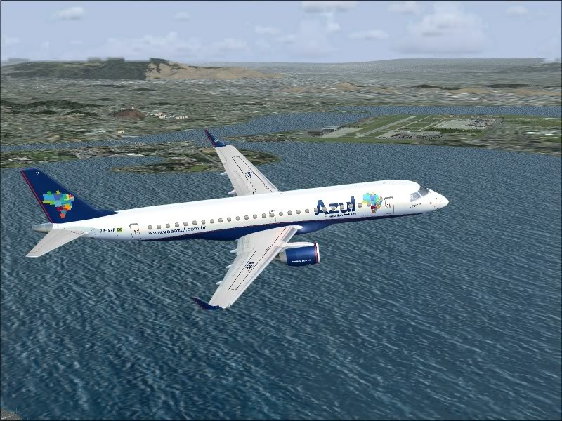 [FS9]Rio de Janeiro - Salvador no E190 da Azul Avs_7559