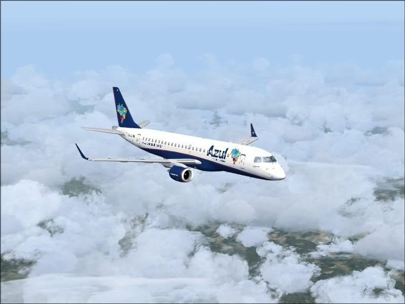 [FS9]Rio de Janeiro - Salvador no E190 da Azul Avs_7561