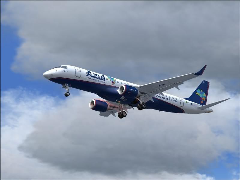 [FS9]Rio de Janeiro - Salvador no E190 da Azul Avs_7563