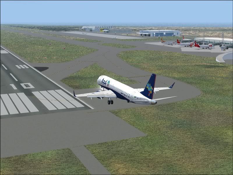 [FS9]Rio de Janeiro - Salvador no E190 da Azul Avs_7566