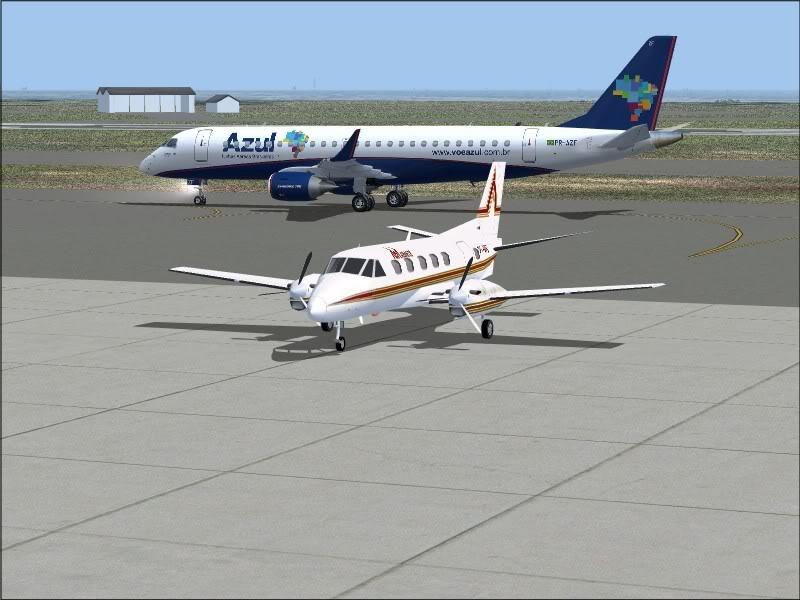[FS9]Rio de Janeiro - Salvador no E190 da Azul Avs_7568