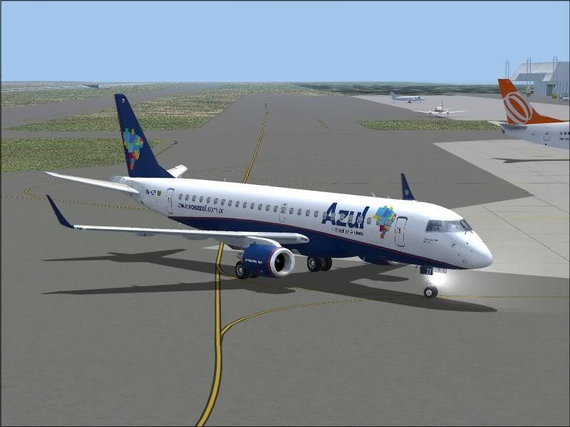 [FS9]Rio de Janeiro - Salvador no E190 da Azul Avs_7569