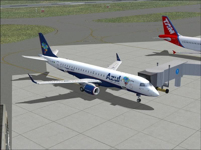[FS9]Rio de Janeiro - Salvador no E190 da Azul Avs_7570