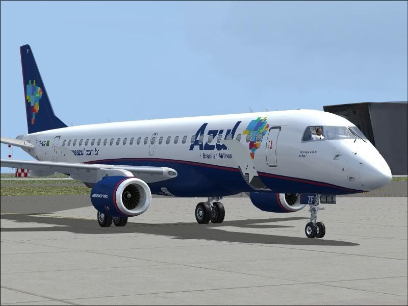 [FS9]Rio de Janeiro - Salvador no E190 da Azul Avs_7571