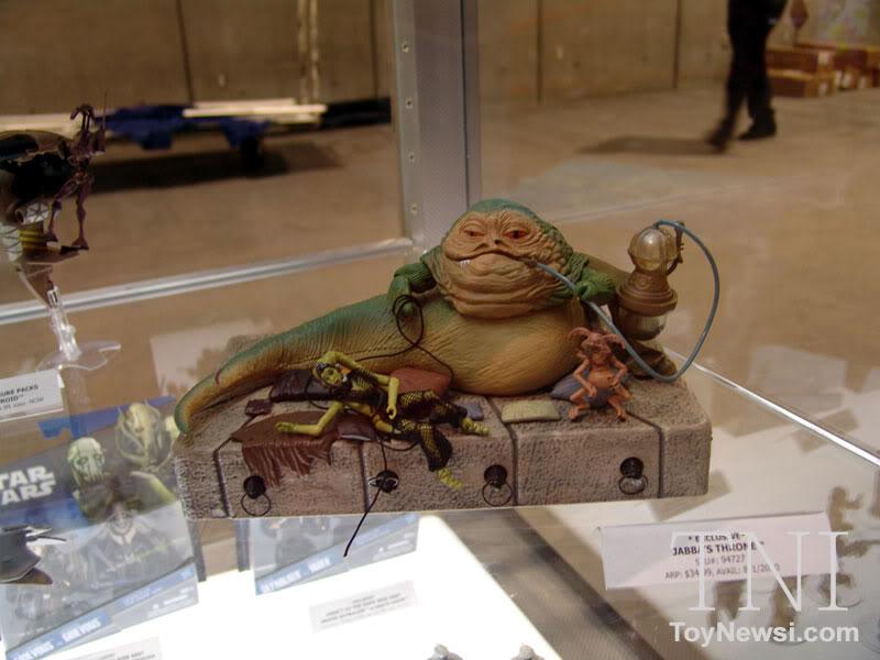 Lançamento - Jabba's Throne: 2010 Vintage Collection - Hasbro - LANÇADO! DSC064261