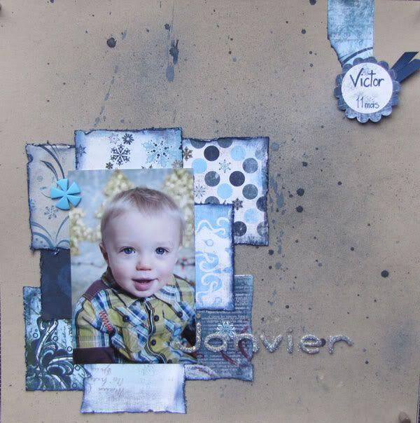 En janvier (2011), je m'inspire de... Janvier-maman