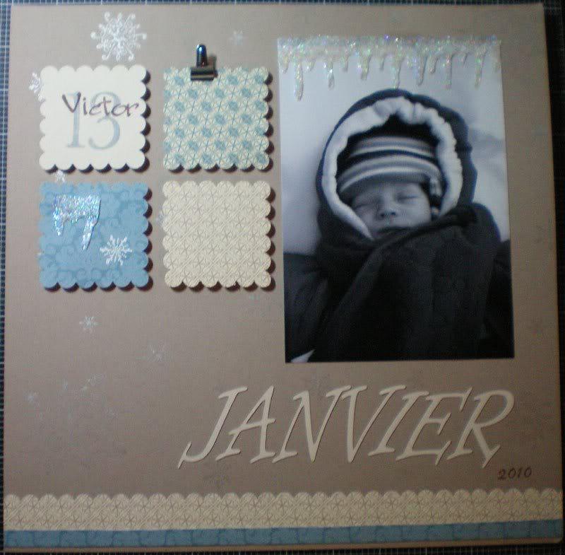 Janvier- Ah comme la neige a neigé! - Page 3 Janvier