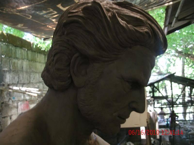 sculpting hugh jackman wolverine 1:1 testing GEDC1065Medium