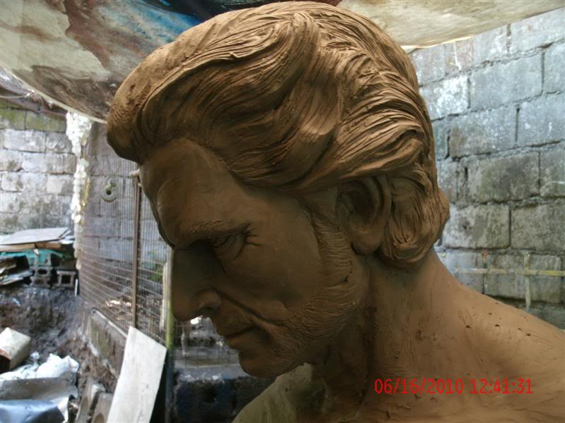 sculpting hugh jackman wolverine 1:1 testing GEDC1066Medium