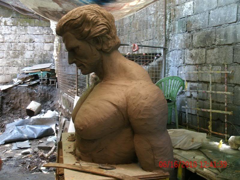 sculpting hugh jackman wolverine 1:1 testing GEDC1067Medium