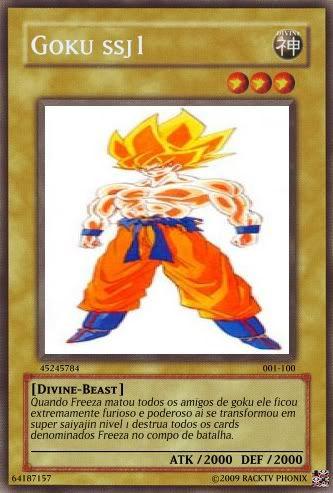 Seus Cards Gokussj1card