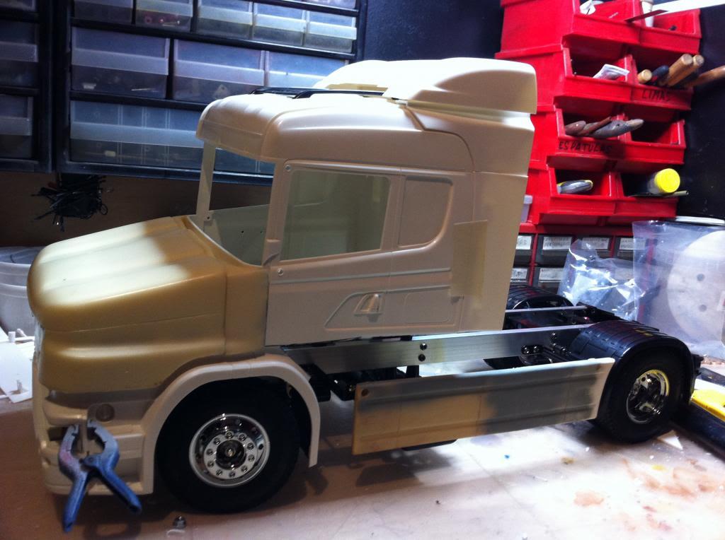 Tamiya Scania cabina T IMG_1304
