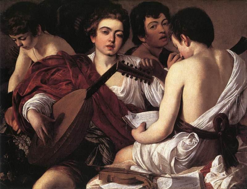 Música y pintura Caravaggio