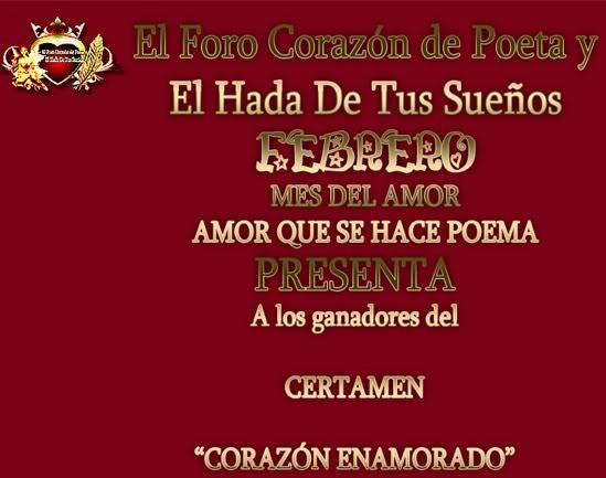 """GANADORES DEL CERTAMEN """"CORAZON ENAMORADO"""" (Día de los enamorados 2011) Coraena1"""