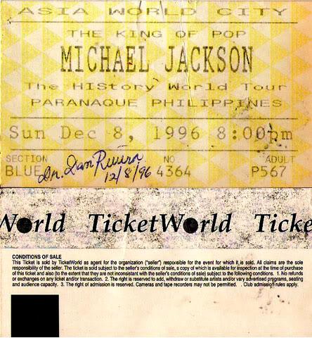 Biglietti dei concerti Tickethistory