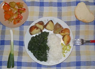 Peceni krompir sa spanacem  DSCN3638