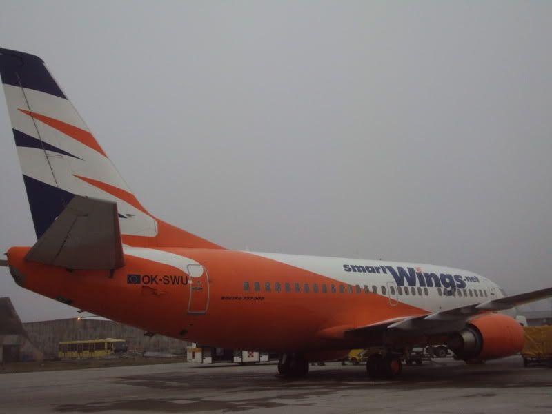Aeroportul Timisoara (Traian Vuia)  - Ianuarie 2011 B735OKSWUTVS1101182-1