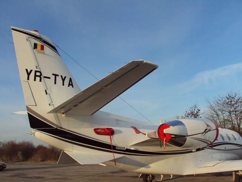Aeroportul Timisoara (Traian Vuia)  - Ianuarie 2011 C56XYR-TYA1101186-1