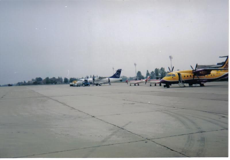 Aeroportul Timisoara (Traian Vuia) - 1990-2007 AeroportulTimisoaramijloculanilo-2