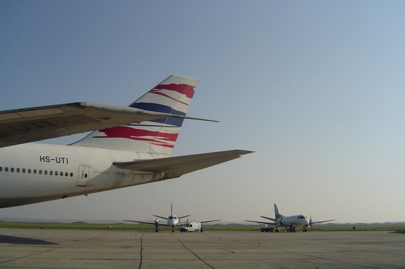 Aeroportul Timisoara (Traian Vuia) - 1990-2007 HS-UTIB747-246BOrientThaiAirlines6I
