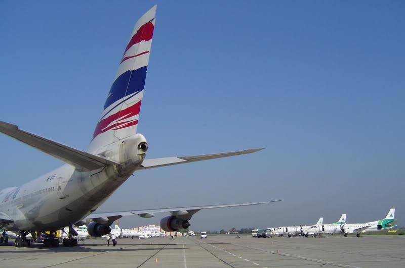 Aeroportul Timisoara (Traian Vuia) - 1990-2007 HS-UTIB747-246BOrientThaiAirlines7I