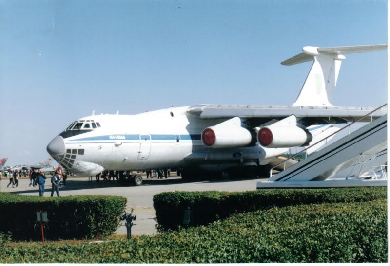 Aeroportul Timisoara (Traian Vuia) - 1990-2007 IL-76MDUkrainianAirForce18iunie2000