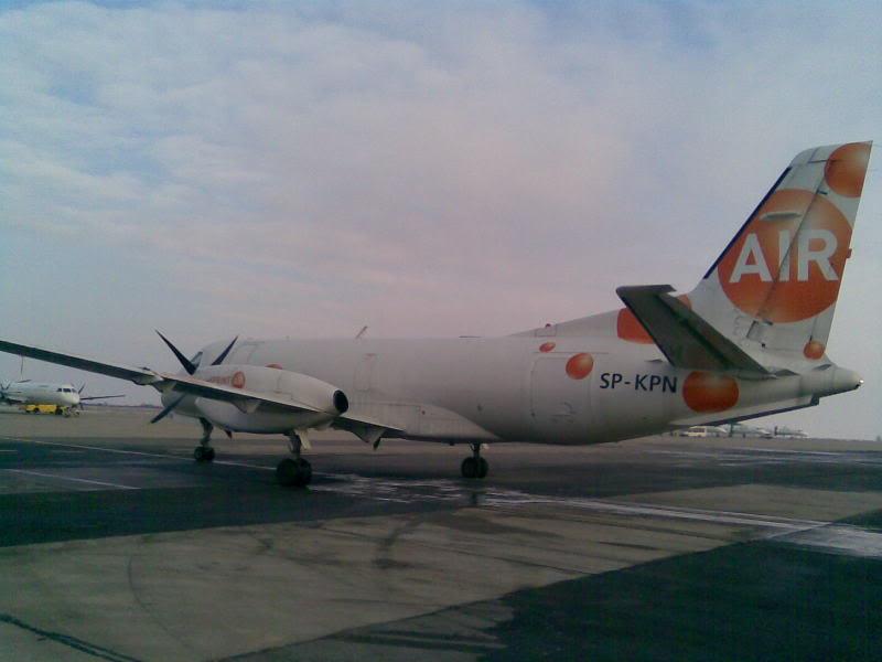 Aeroportul Timisoara (Traian Vuia) - 1990-2007 Saab340FSprintAirSP-KMNSOP55023JAN2