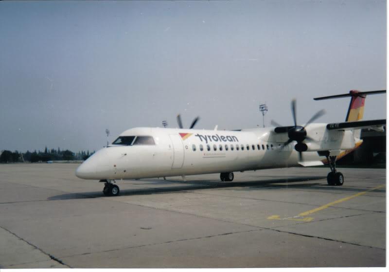 Aeroportul Timisoara (Traian Vuia) - 1990-2007 DeHavillandDash8-400TyroleanAirways