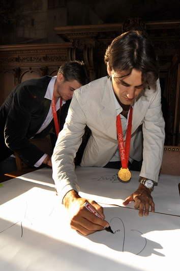 Roger Federer y los JJOO 0809_empfangbasel_georgioskefala-1