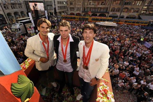 Roger Federer y los JJOO 0809_empfangbasel_georgioskefala-2