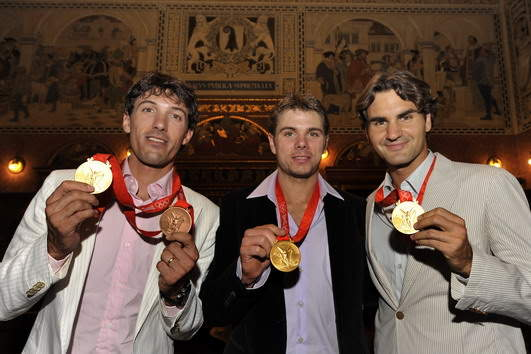 Roger Federer y los JJOO 0809_empfangbasel_georgioskefalas_3