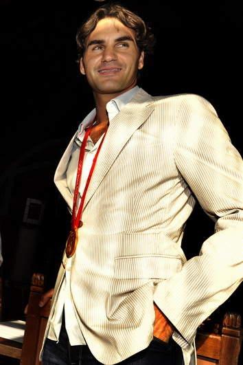 Roger Federer y los JJOO 0809_empfangbasel_georgioskefalas_8