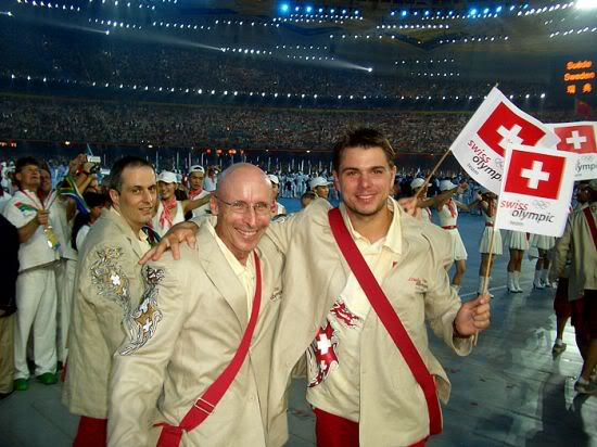 Stanislas Wawrinka y Roger Federer CIMG1307