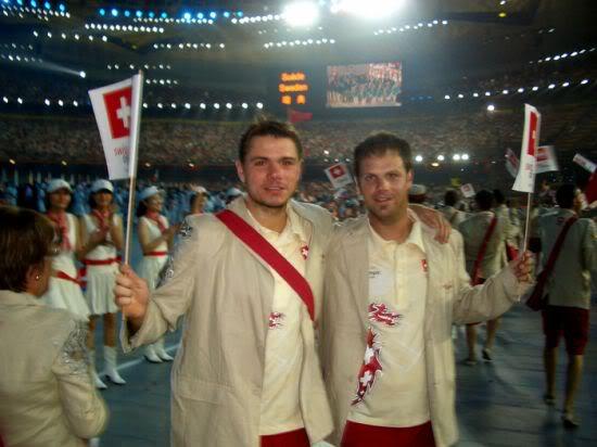 Stanislas Wawrinka y Roger Federer CIMG1308