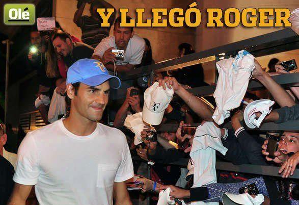Juan Martín Del Potro vs Roger Federer del 12 al 13 de diciembre de 2012. 148280_482844768425946_92651451_n