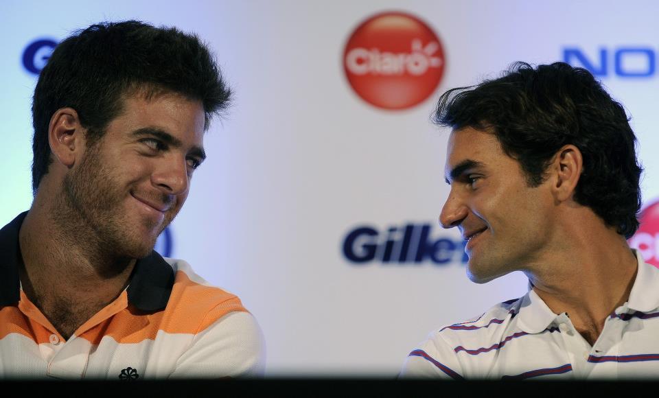 Juan Martín Del Potro vs Roger Federer del 12 al 13 de diciembre de 2012. 155958_483038668406556_515766232_n