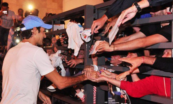 Juan Martín Del Potro vs Roger Federer del 12 al 13 de diciembre de 2012. 15987_482816111762145_666462244_n