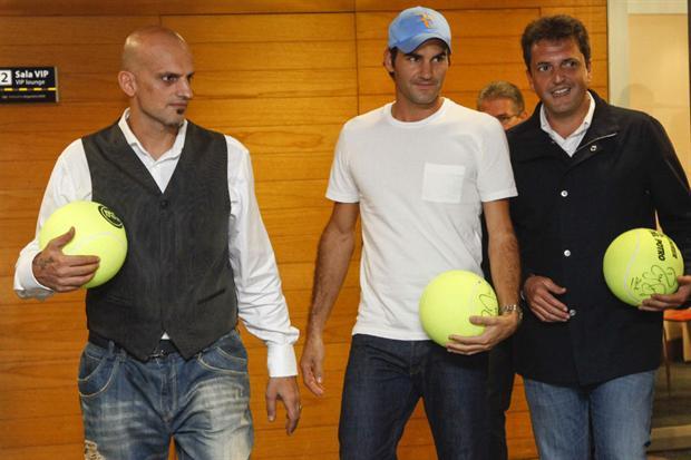 Juan Martín Del Potro vs Roger Federer del 12 al 13 de diciembre de 2012. 1633307w620