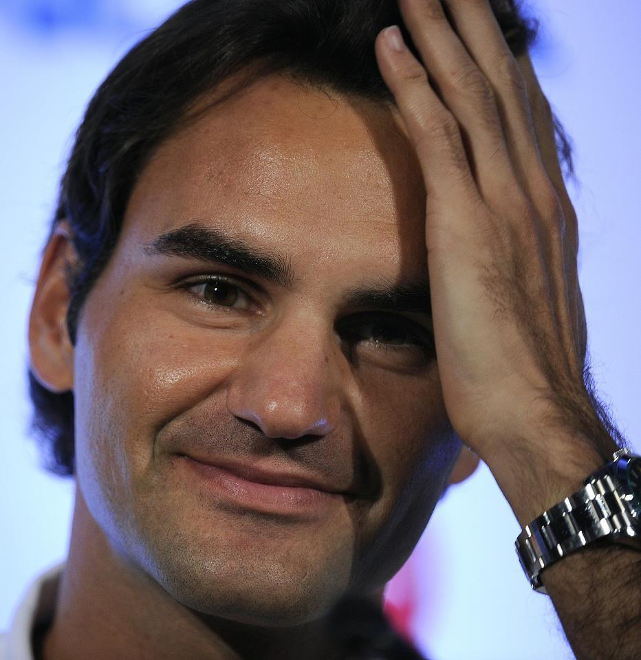 Juan Martín Del Potro vs Roger Federer del 12 al 13 de diciembre de 2012. 397065_483038985073191_687920486_n