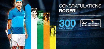 Felicidades Roger por tu semana 300 como nº 1 429294_460146590695764_1488170347_n